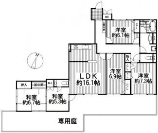 宝塚ガーデンヴィレッジC棟 1階