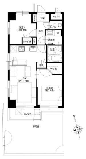 ニックハイム赤羽:南西角部屋の2LDKリノベーション物件はフラット35s&住宅ローン減税利用可能です!令和3年7月下旬完成予定となっております!