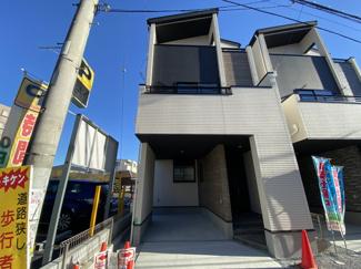 JR総武線「船橋」駅徒歩13分の全2棟の新築一戸建てです。