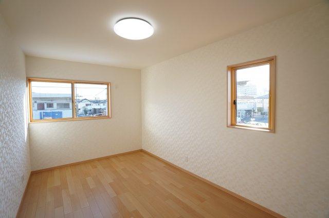 7.5帖 やわらかい色合いなので、お部屋の印象もぐっと明るくなります。