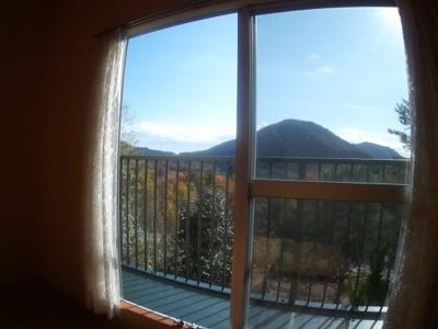 洋室8帖からの眺望