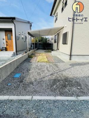 【駐車場】八女市高塚『モデル住宅を販売』