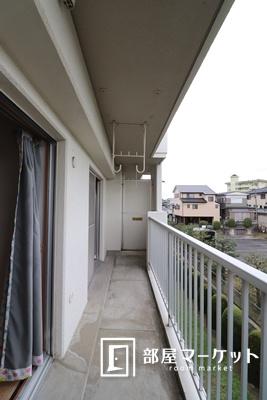 【バルコニー】大野マンション(小呂)