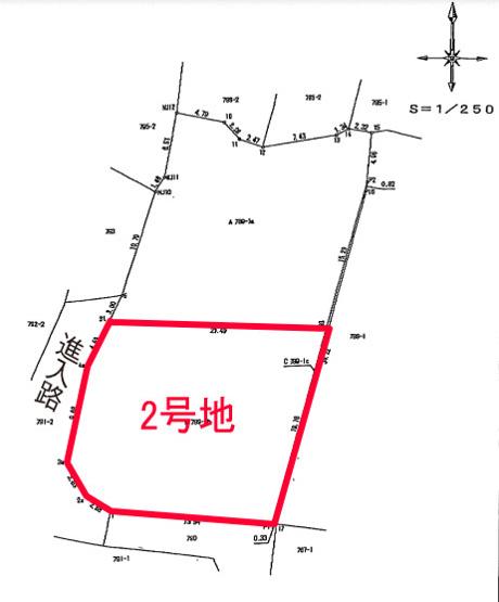 【土地図】E003玉名市岱明町大野下2号地