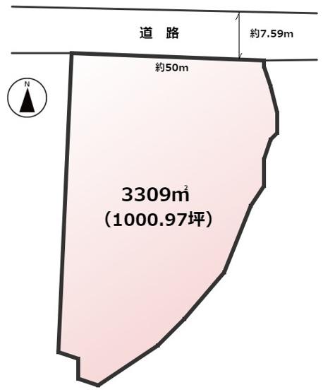 【土地図】古賀市鹿部土地
