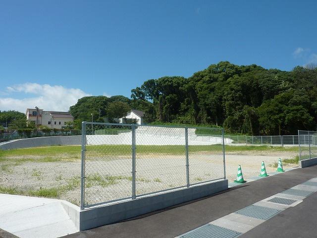 【前面道路含む現地写真】古賀市鹿部土地
