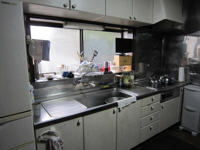 【キッチン】斉藤―中古住宅(菖蒲町)