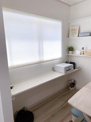実際に建築したお家の洋室の写真になります。畳の色も選んでいただくことができますよ♪フリープランですのでどんなことでもご相談ください♪