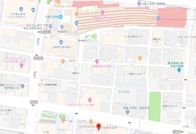 【地図】ハピネス上六