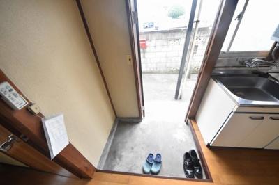 【玄関】ユコアパートB棟