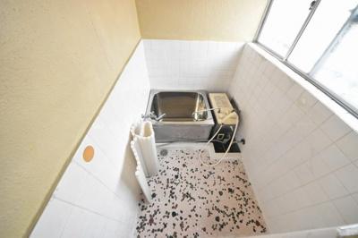 【浴室】ユコアパートB棟