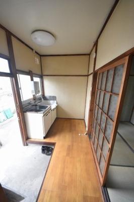 【キッチン】ユコアパートB棟