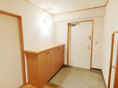 【玄関】パールグリーン新宿