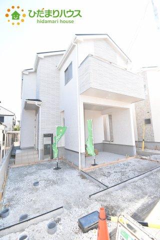 【外観】上尾市小泉7丁目 新築一戸建て 02
