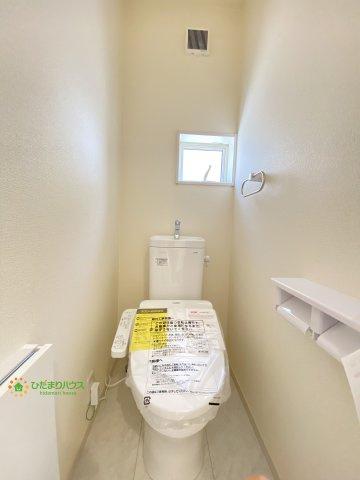 【トイレ】久喜市青葉5丁目 第2 新築一戸建て 04 リーブルガーデン