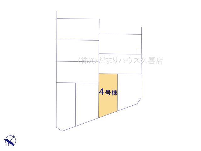 【区画図】久喜市青葉5丁目 第2 新築一戸建て 04 リーブルガーデン