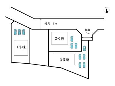 【区画図】姫路市上大野 第4/3棟