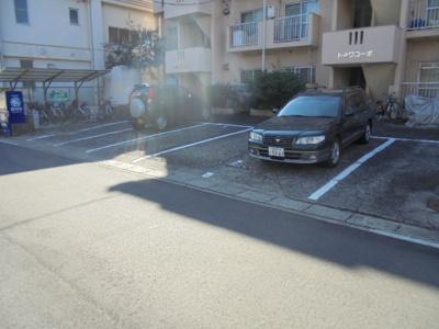 【駐車場】トキワコーポ