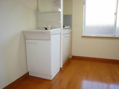 うれしい独立洗面台完備(同一仕様写真)