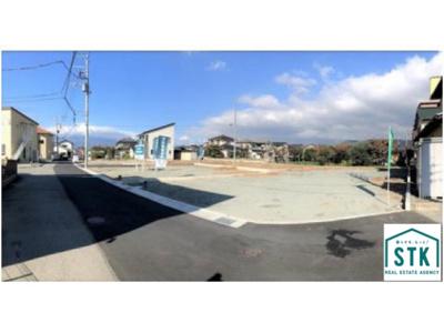 【外観】甲斐市長塚Ⅰ全5区画 分譲地