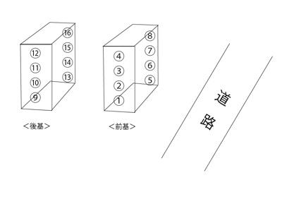 【区画図】丸澤ガレージ赤羽
