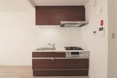 キッチンでお料理をお楽しみください!