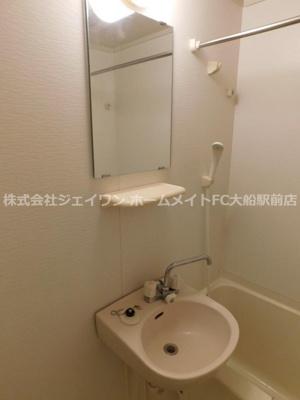 【洗面所】ボヌール大船