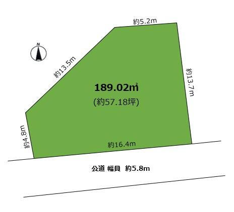 【土地図】高座町Ⅰ 売土地