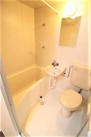 【浴室】小金井市貫井南町4丁目の一棟売りアパート
