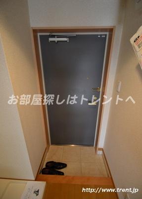 【玄関】ドルフィン西新宿