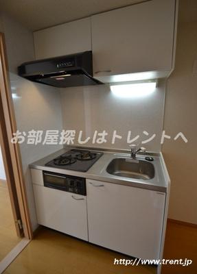 【キッチン】ドルフィン西新宿
