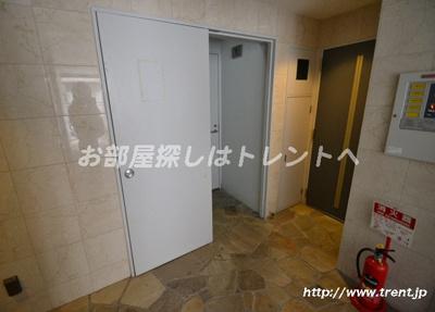 【ロビー】ドルフィン西新宿