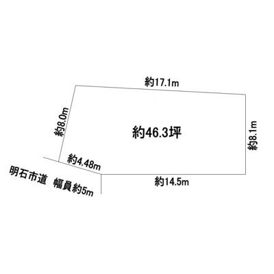 【区画図】上ノ丸3丁目売戸建