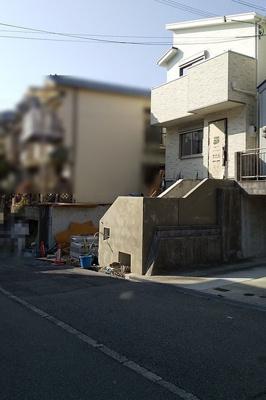 【前面道路含む現地写真】神戸市垂水区上高丸3丁目 新築戸建