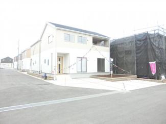 四街道市大日 新築一戸建 施工例です。