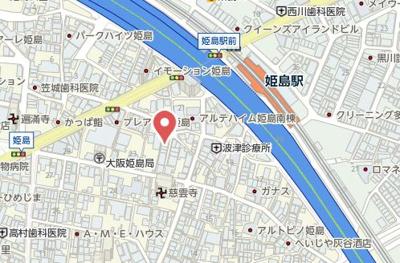 【地図】クリエオーレ姫島
