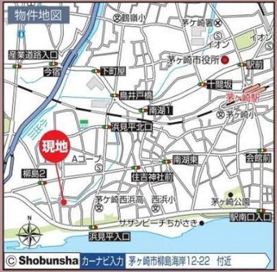 【地図】茅ヶ崎市柳島海岸 No.1