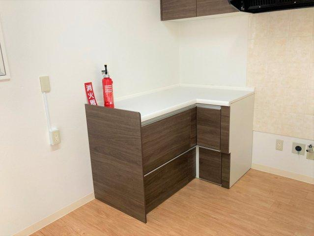 【キッチン】うるま市兼箇段 新築収益物件