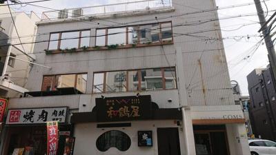 【外観】堺東から4分!飲食居ぬき店舗2F! 広々約53坪!