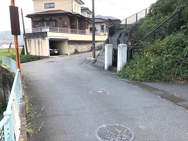 【前面道路含む現地写真】筑紫野市大字原土地