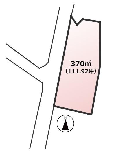【土地図】大野城市乙金東2丁目土地