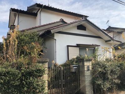 【外観】足利市赤松台 中古住宅