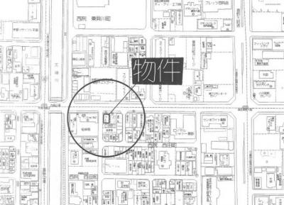 【地図】2011年築の一棟マンション