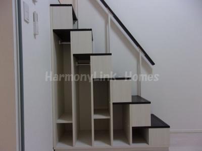Maison Sourireの収納付き階段☆
