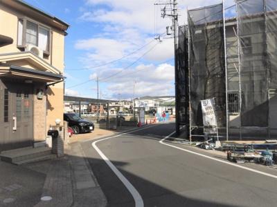 【前面道路含む現地写真】京都市伏見区久我御旅町 32期