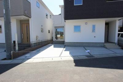 駐車場の用意があります:建物完成しました♪♪毎週末オープンハウス開催♪八潮新築ナビで検索♪