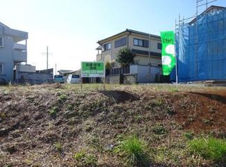 グランファミーロもねの里 土地 物井駅 北西側約22m、北側約13m公道に接道の約88坪の広々角地!店舗付住宅に最適です!様々な建築プランに対応できます♪