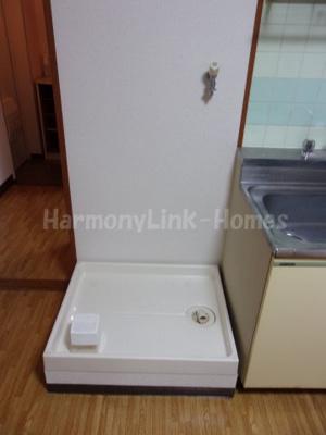 モンターニュ駒込の室内洗濯機置き場