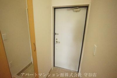 【玄関】ラパンブルー