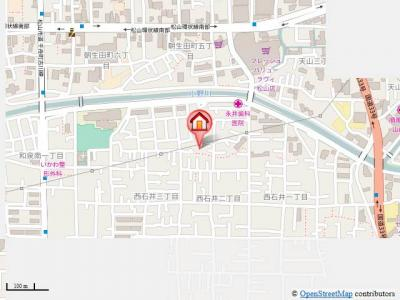 【地図】ボヌールレジデンス・